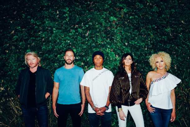 Little Big Town & Pharrell Collaborate for new Album!