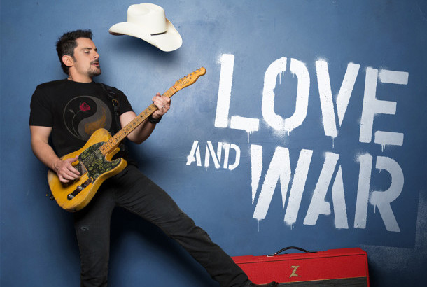 "Album Review: Brad Paisley – ""Love and War"""